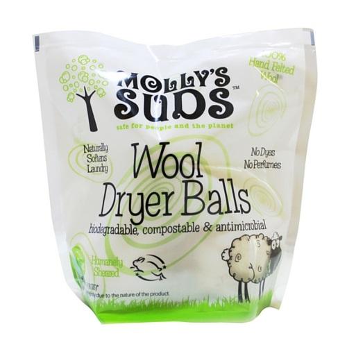 Molly's Suds 100% Wool Dryer Balls