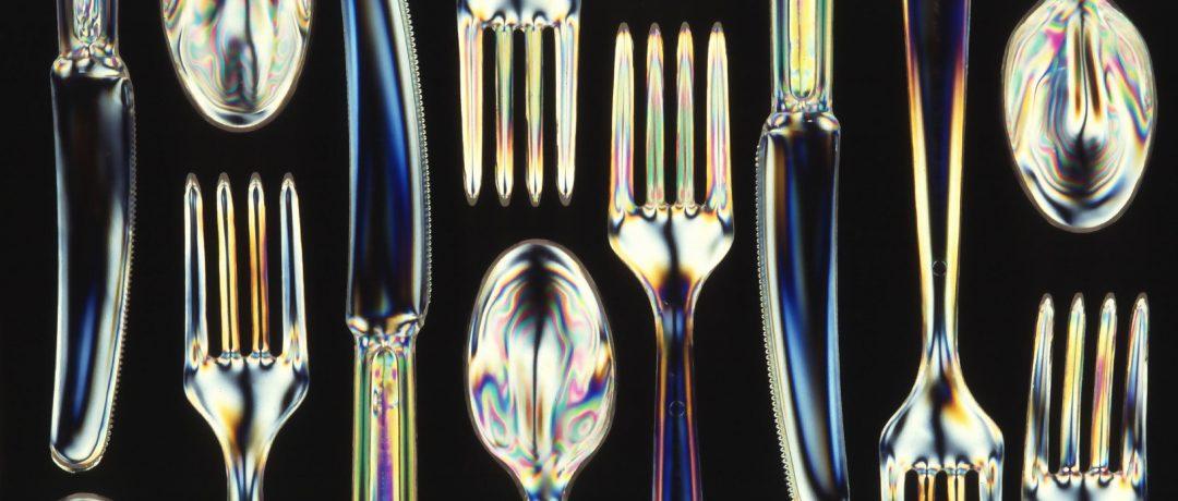 Bioplastic utensils